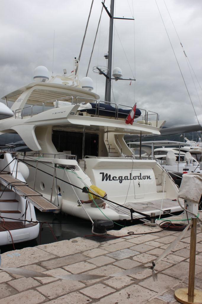Марина в Черногории